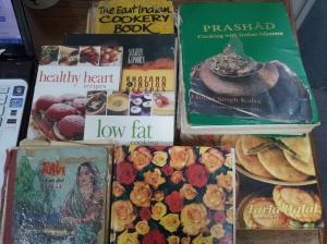 My Recipe books My Inspiration