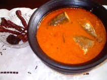 Hot & Sour Mackerel curry