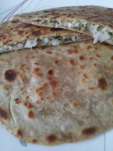 4Cabbage Paneer Parathas step15 21Jun15