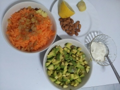 Avocado and Carrot salad2