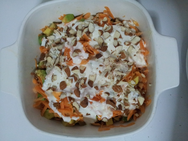 Avocado and Carrot salad4