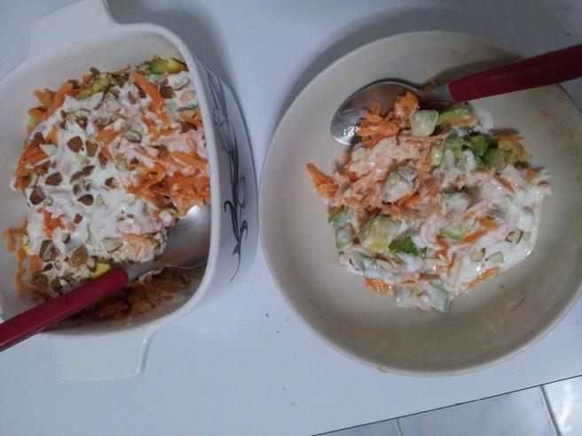 Avocado and Carrot salad5