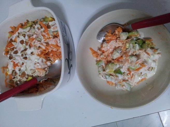Avocado and Carrot salad5