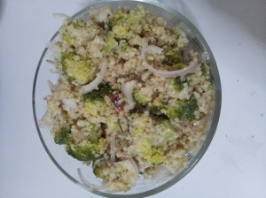 Quinoa and Broccoli Slaw step10