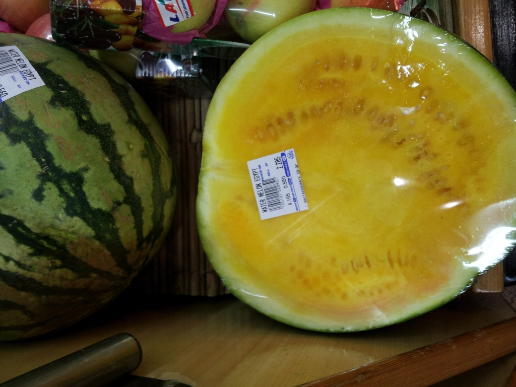 Trivia Yellow Watermelon