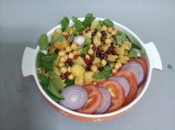 Aloo Salad Anarkali (2)