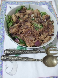 Tuna and Braised onion salad (12)