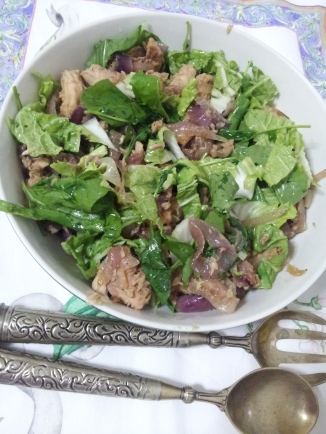 Tuna and Braised onion salad (14)