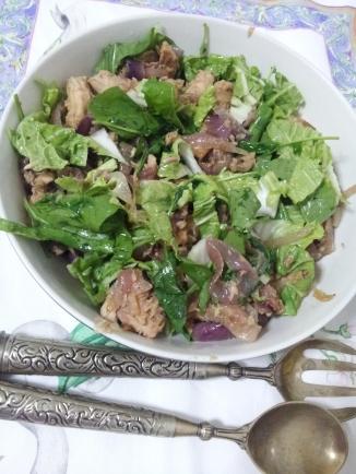 Tuna and Braised onion salad (14)