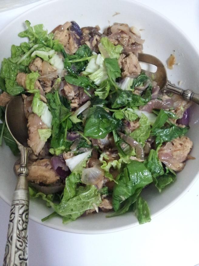 Tuna and Braised onion salad (15)