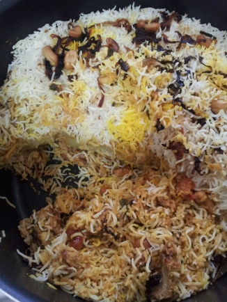 Hyderabadi Chicken Biryani (1)