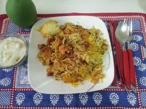 Hyderabadi Chicken Biryani (45)