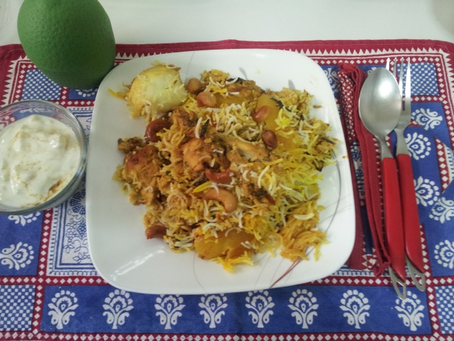 Hyderabadi Chicken Biryani (45)