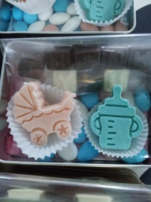 Charms Baby shower favors (8)