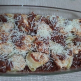 Lumaconi stuffed and baked (18)