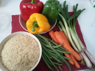 Veg fried rice (2)