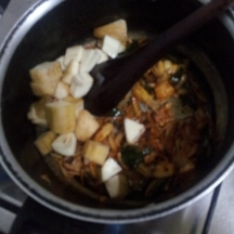 Raw Banana Bhaji step5