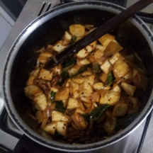 Raw Banana Bhaji step6