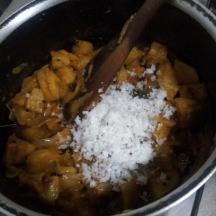 Raw Banana Bhaji step9