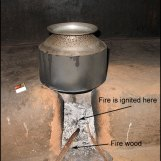Traditional cooking pot