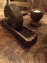 Stone coffee grinder