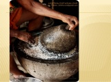 Ghatno or grinding stone for masalas