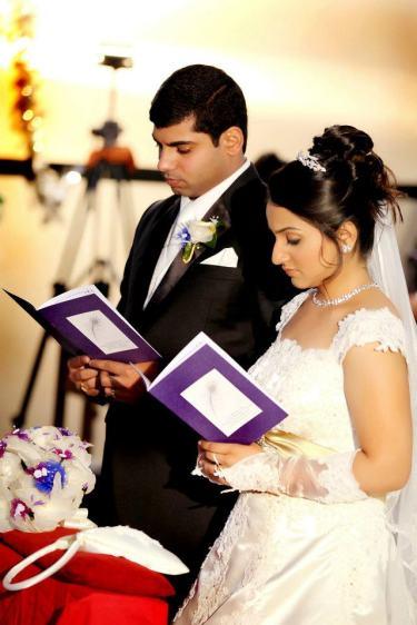 Raoul Charm wedding booklet
