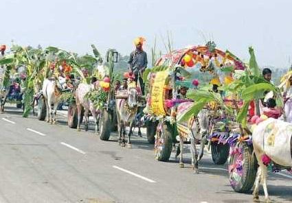 Wedding procession indicative